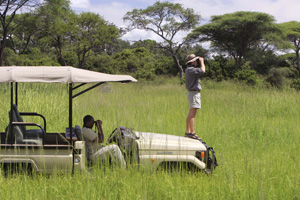 Game drive at Katavi