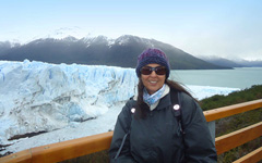 Nabila Cash in Patagonia