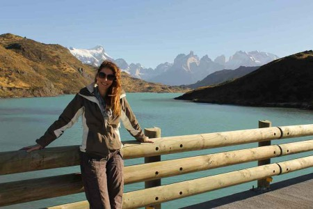 Laura Chile March 2013, Me in Torres