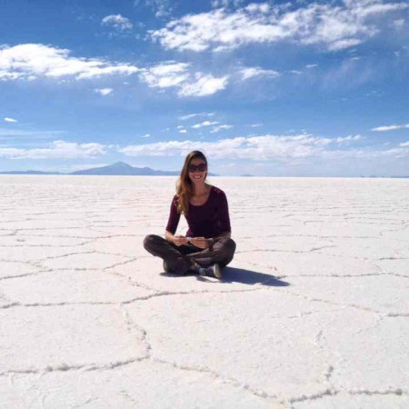 Me on Salt Flats