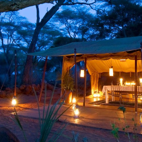Offbeat Meru Camp, Meru National Park