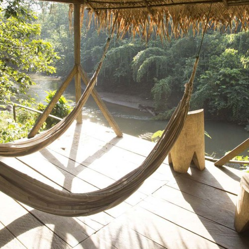 Huaorani Eco Lodge, Ecuador