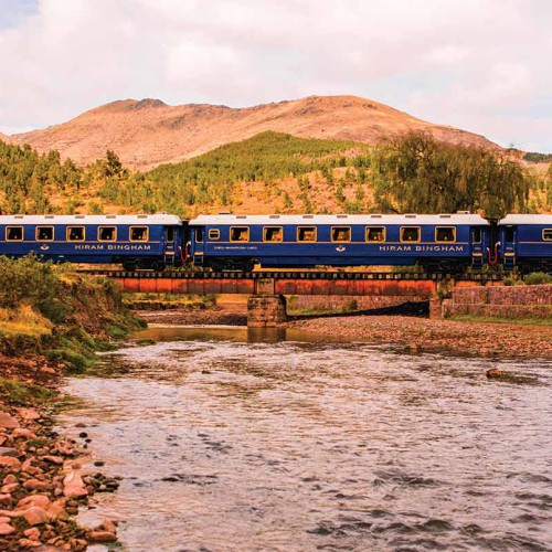 Belmond Hiram Bingham Train, Machu Picchu
