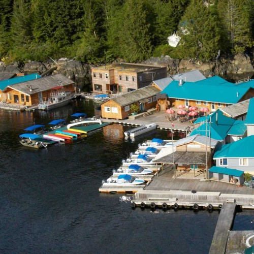 Knight Inlet Lodge, Campbell River