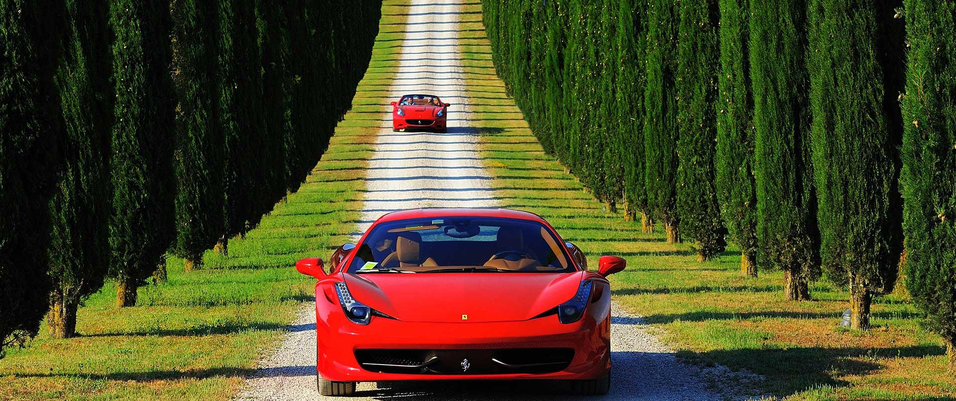 Ferrari Self-Drive in Italy