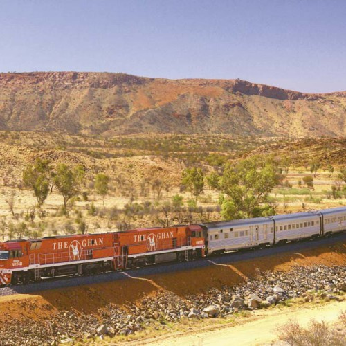 The Ghan – Adelaide to Darwin and vice