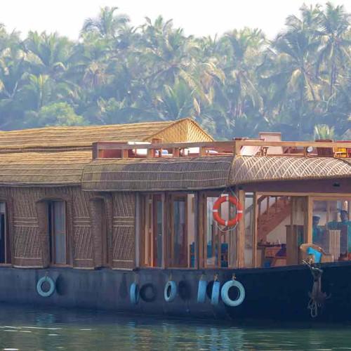 The Lotus Houseboat, Kerala