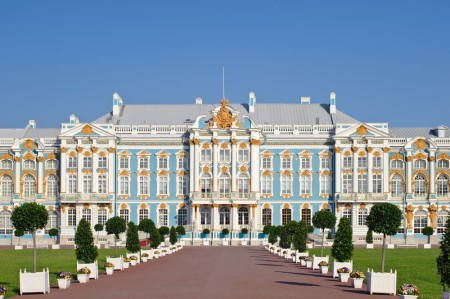 Russia - Catherine Palace - St Petersburg -shutterstock_87390797