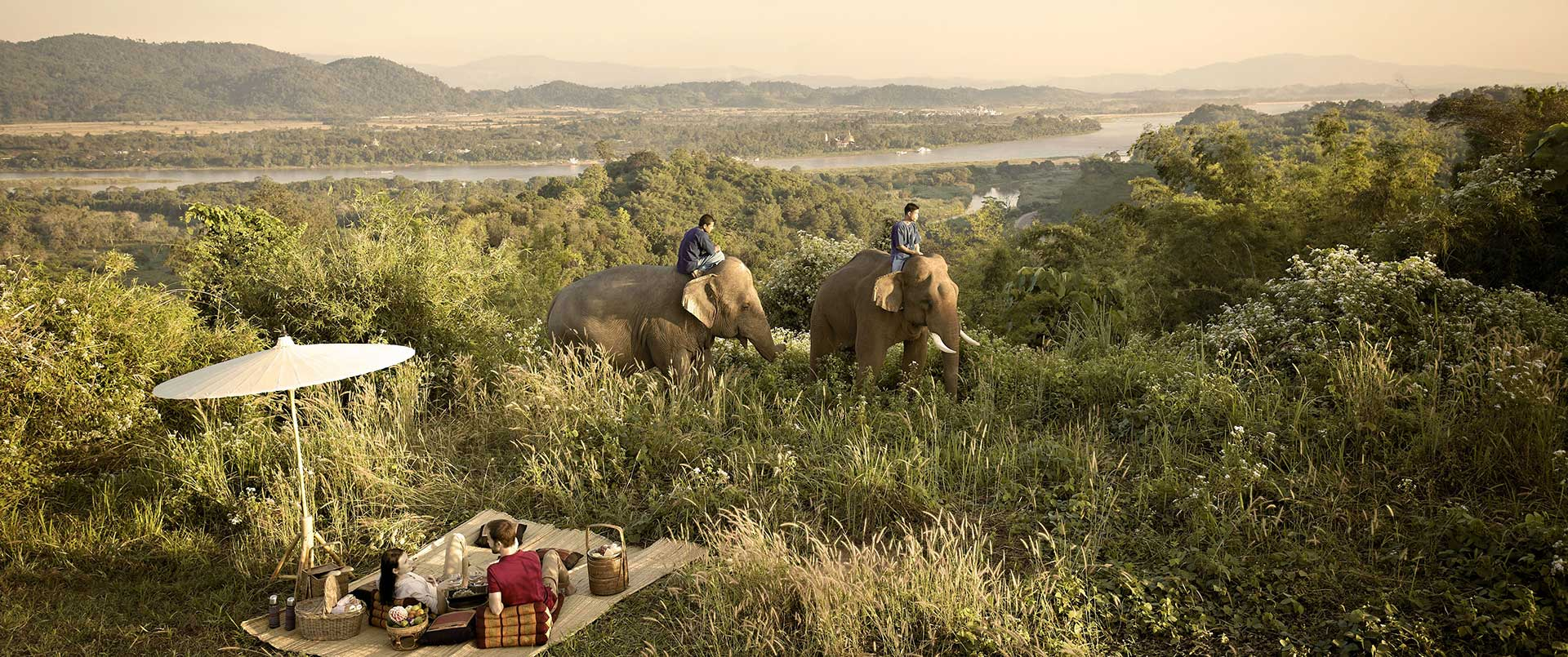 Anantara Golden Triangle Elephant Camp, Chiang Rai