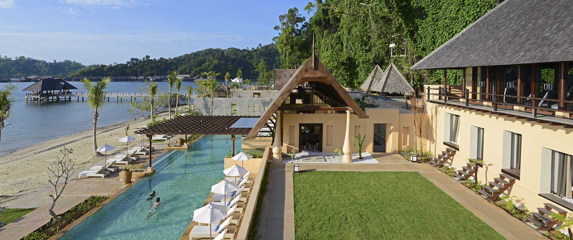 Gaya Island Resort, Gaya Island
