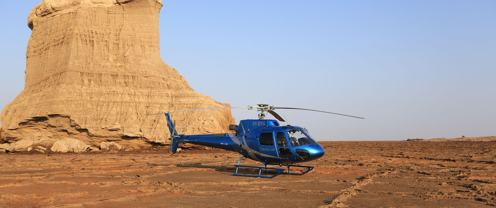 Ethiopia by Helicopter