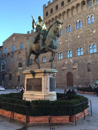 Piazza della Signoria, rick blog