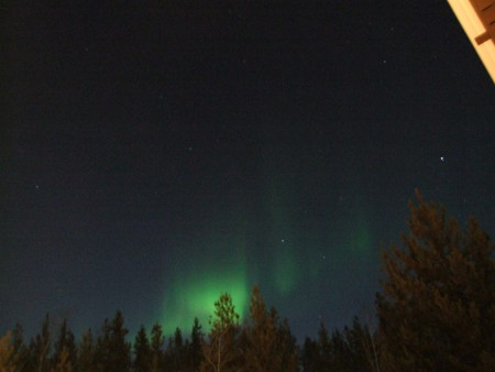 The Yukon blog, David M - northern lights