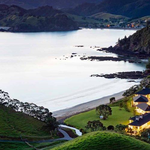Helena Bay Lodge, New Zealand
