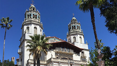 A visit to Hearst Castle