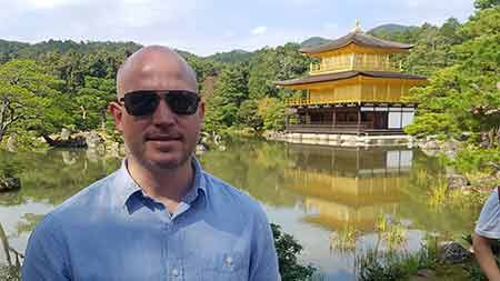 Kinkaku Temple Golden Pavilion, Kyoto