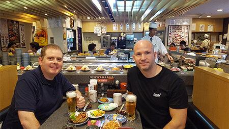 Sushi Lunch, Tokyo