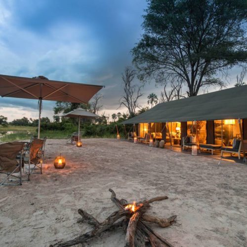 Gomoti Plains Camp, Okavango Delta