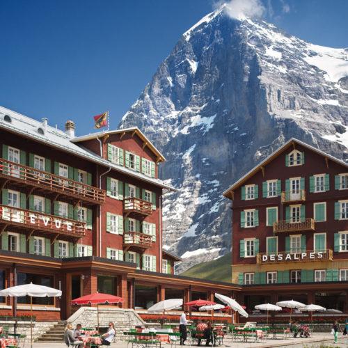 Hotel Bellevue des Alpes, Switzerland
