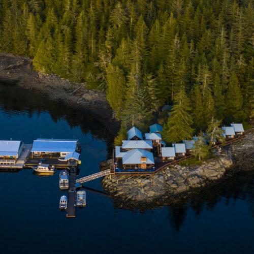 Farewell Harbour Lodge, Great Bear Rainforest